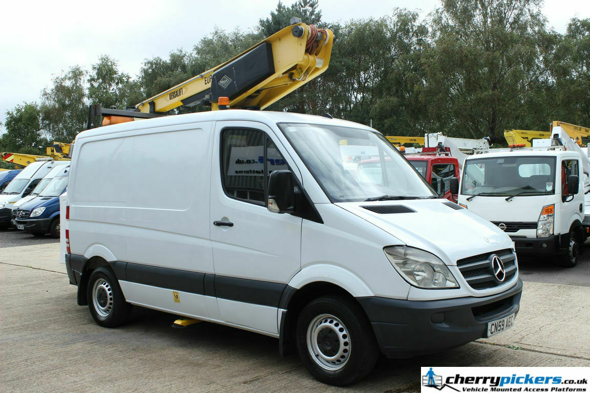 2009 Mercedes Sprinter Versalift Access Platform Cherry Picker - 13.5 metre